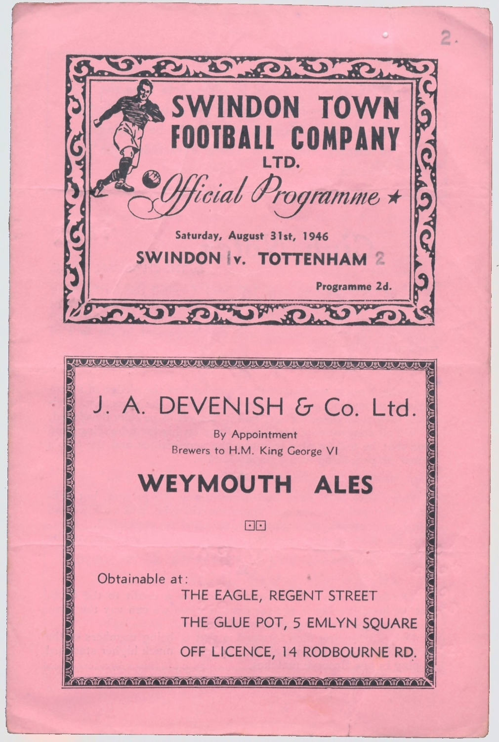 11 - County Ground - 1946 Aug31 v Tottenham