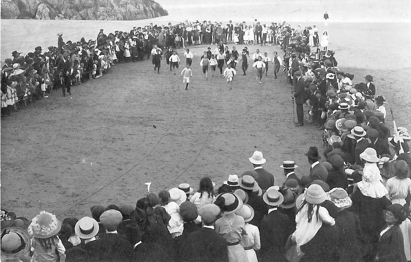 ANNUAL TRIP (TENBY 7) 1912