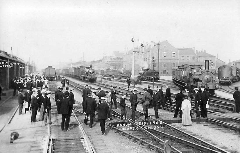 ANNUAL TRIP (WESTON-S-MARE) 1906