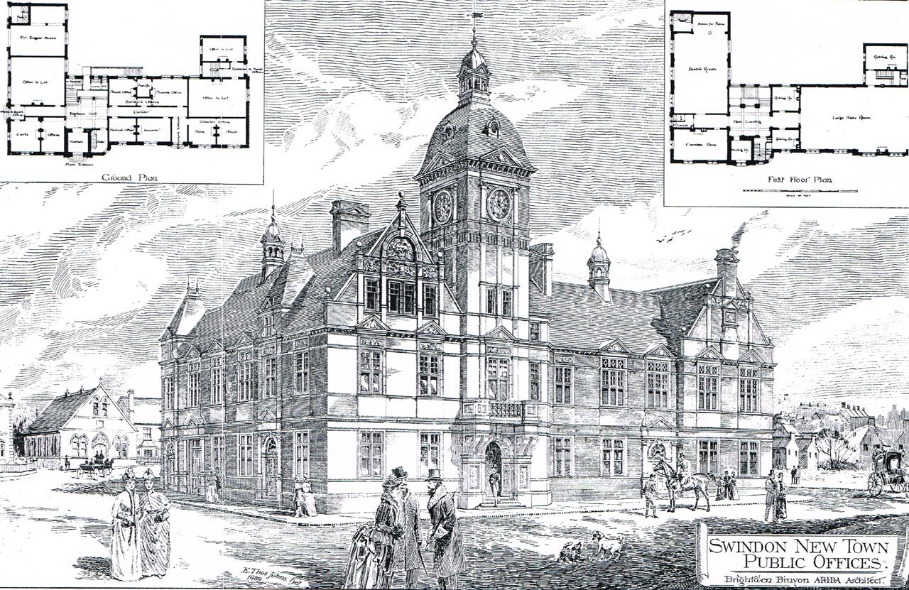 BB Swindon Town Hall 12.7.89