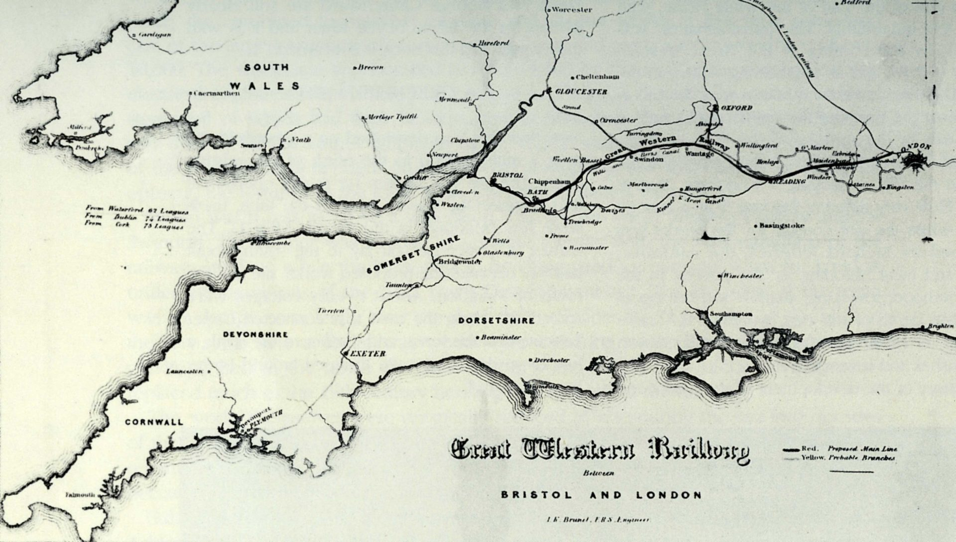 The GWR line