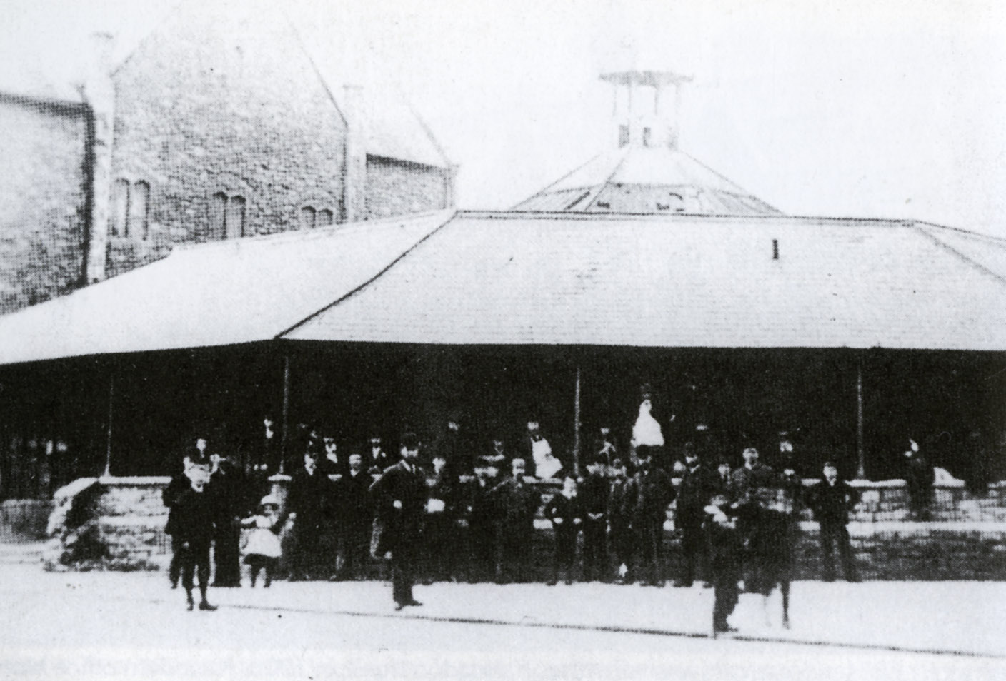The first Market at the Mechanics
